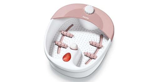 Många elektriska fotbad, som FB 20 från Beurer, har funktioner som massageprogram och uppvärmning.