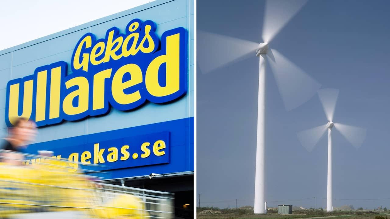 Gekås plan: Anlägga  vindkraftpark i Ullared