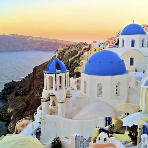 Santorini är charmigast under lågsäsong.