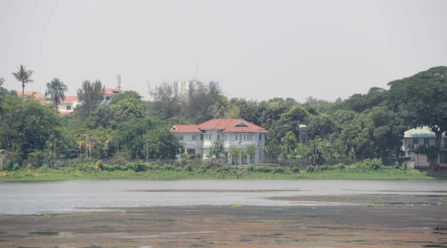 Ang San Suu Kyis hus.
