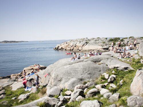 Fina Saltholmen är redan ett populärt besöksmål i Göteborgs skärgård.