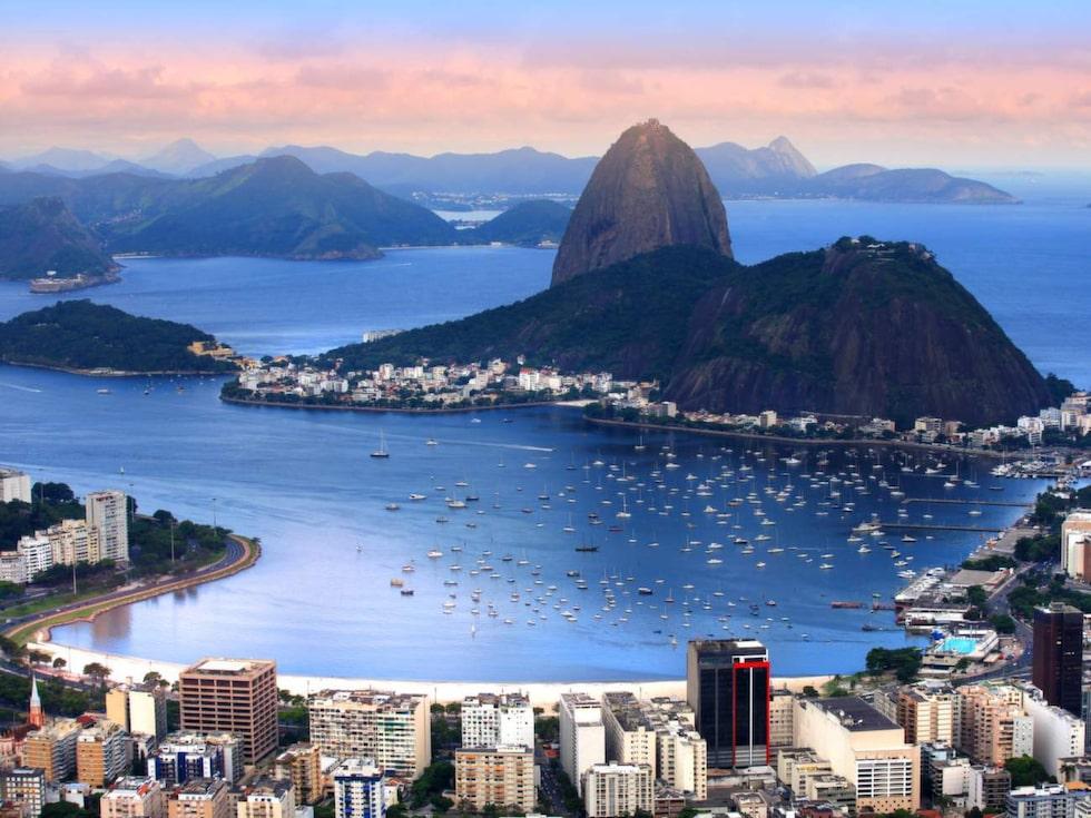 Rio de Janeiro i Brasilien är en självklarhet.
