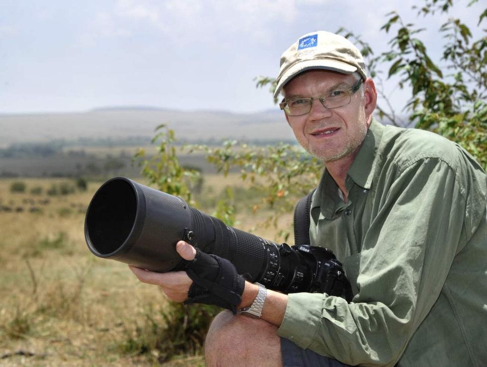 Jan Fleischmann i Masai Mara.