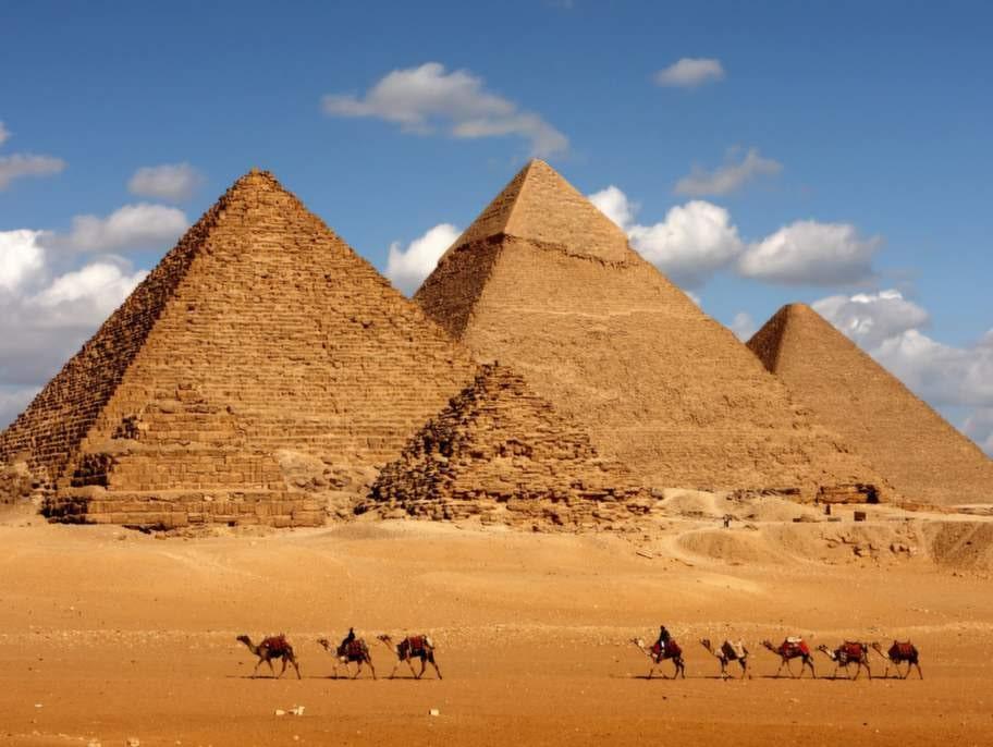 Egyptens pyramider.
