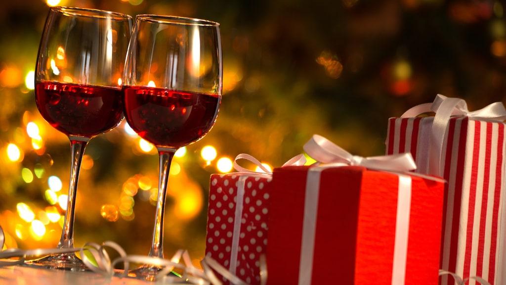 Att få vin i present är ofta uppskattat.