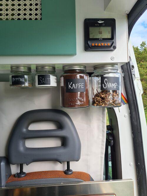 Smarta lösningar behövs när man kör compact living.