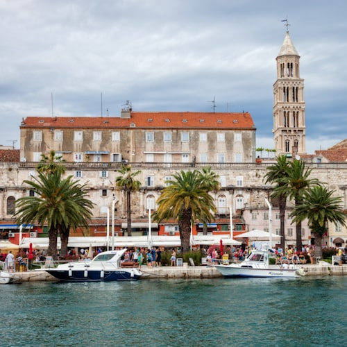 Split har en intressant stadskärna.
