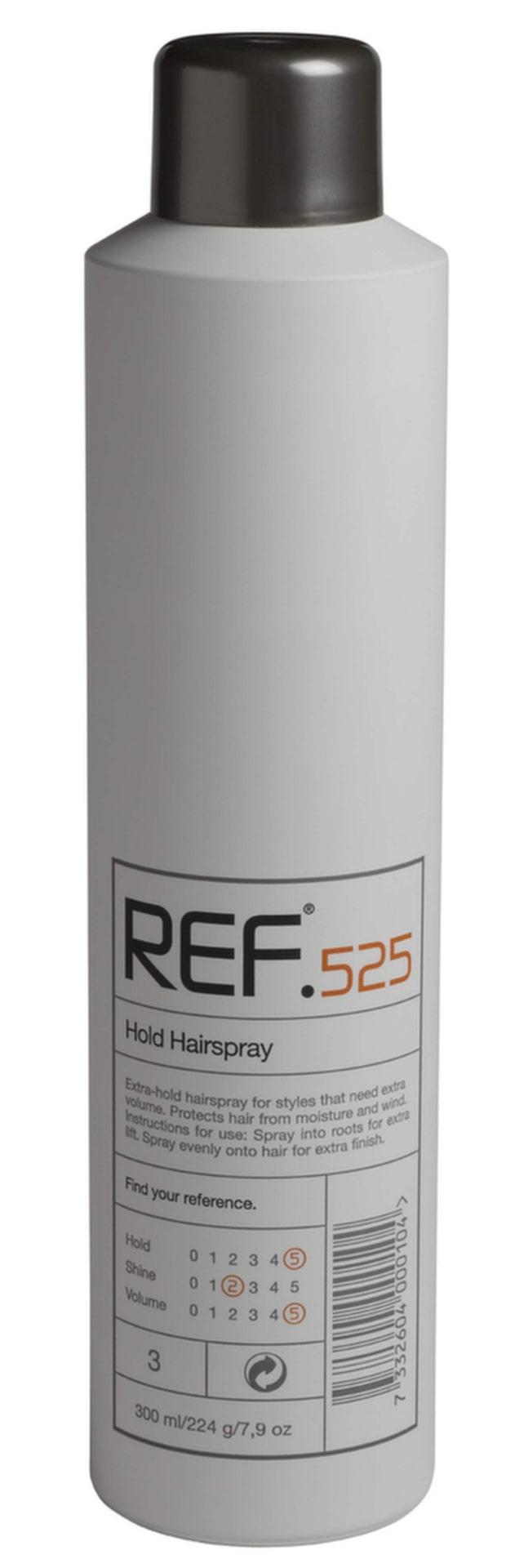 Avsluta din styling med en välgörande spray som håller håret på plats. Spray från REF, 195 kronor.