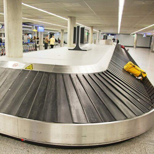 Förlorade bagaget på flyget