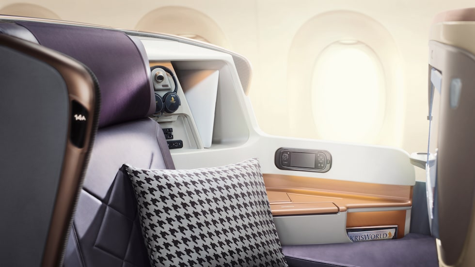 Resan sker i en specialversion av A350-900 ULR.