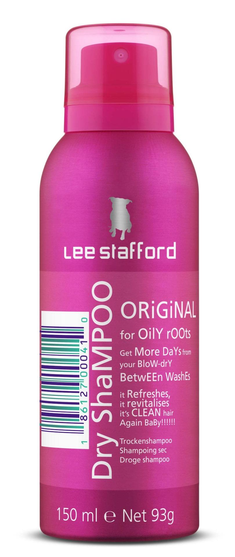 Lee Stafford, Dry Shampoo Original, 150 ml, 79 kronor.Torrschampo formulerat för att öka livslängden på redan stylat hår, lovar att ta bort fett från hårbotten. Ett torrschampo som gör sitt jobb, perfekt att använda mellan tvättarna. Minus för den starka doften.
