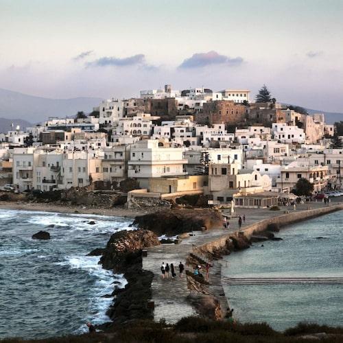 Hade bokat resa till Naxos fick resa hem från Mykonos
