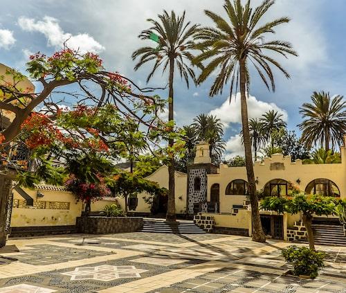 I Vegueta finns det gott om historiskt intressant arkitektur.