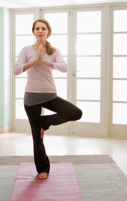 Yoga dig till avslappning.