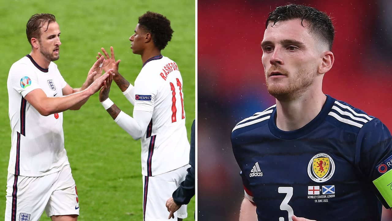 England buas ut av fansen på Wembley