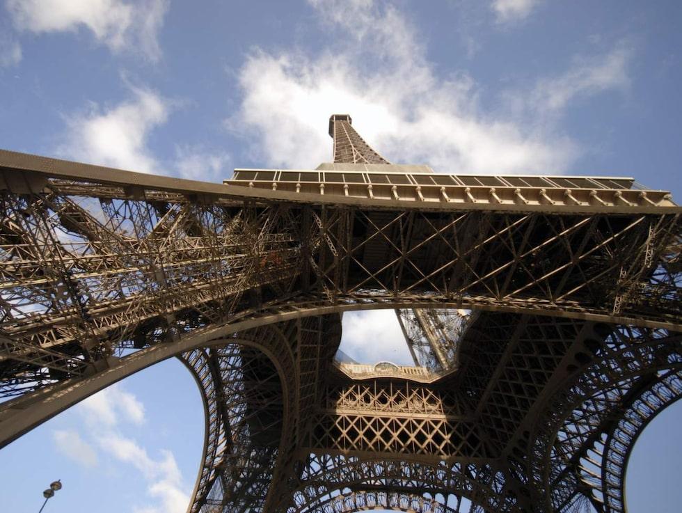 Eiffeltornet var världens högsta byggnad när det stod klart 31 mars 1889.