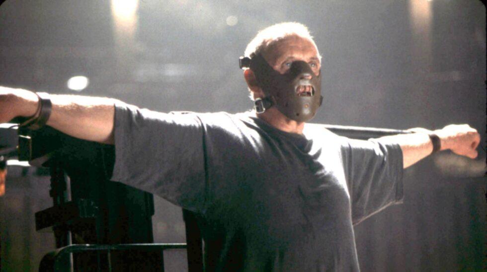 Hannibal Lecters ruggiga mask finns på Hollywood Museum.