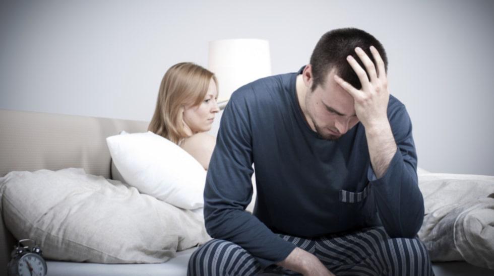 """Olycklig. """"Min partner vill inte ha sex med mig för att jag tänder på blöjor."""""""