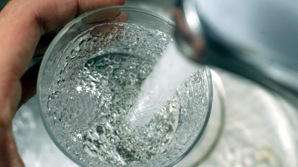 Drick bara vatten när du är törstig. Varken mer eller mindre.
