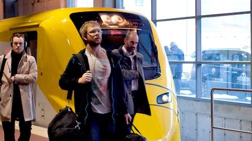 Det tar 20 minuter med Arlanda Express till Arlanda från centralen.