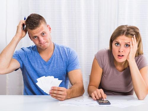 Ekonomi kan skapa oro även i ett förhållande.