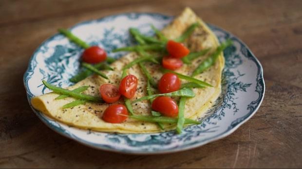 Recept: Omelett