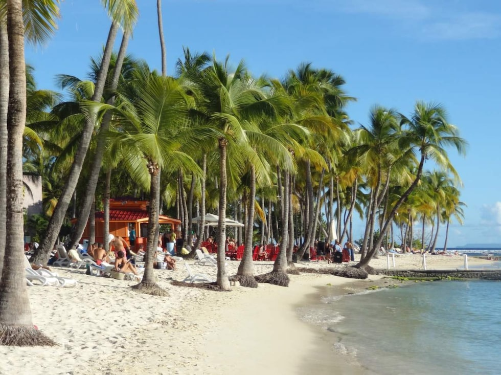 Resan till Guadeloupe blev 600 kronor dyrare.