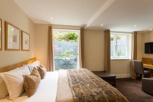 The Nadler Kensington är ett prisvärt hotell inrymt i ett klassiskt brittiskt townhouse.