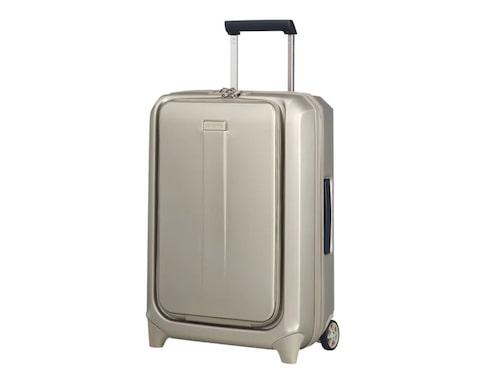 Samsonite Prodigy är en snygg och tålig kabinväska med lättåtkomliga fack.