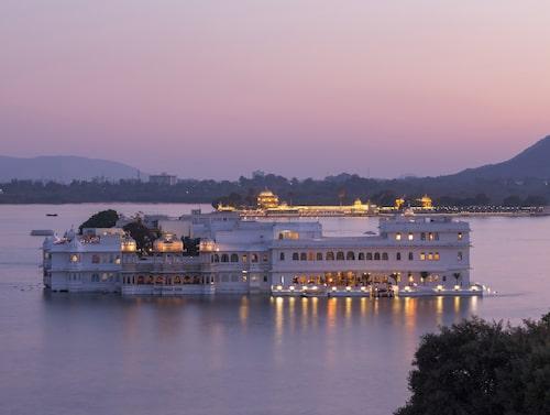 """Palatset i Udaipur hade en viktig roll i """"Octopussy""""."""