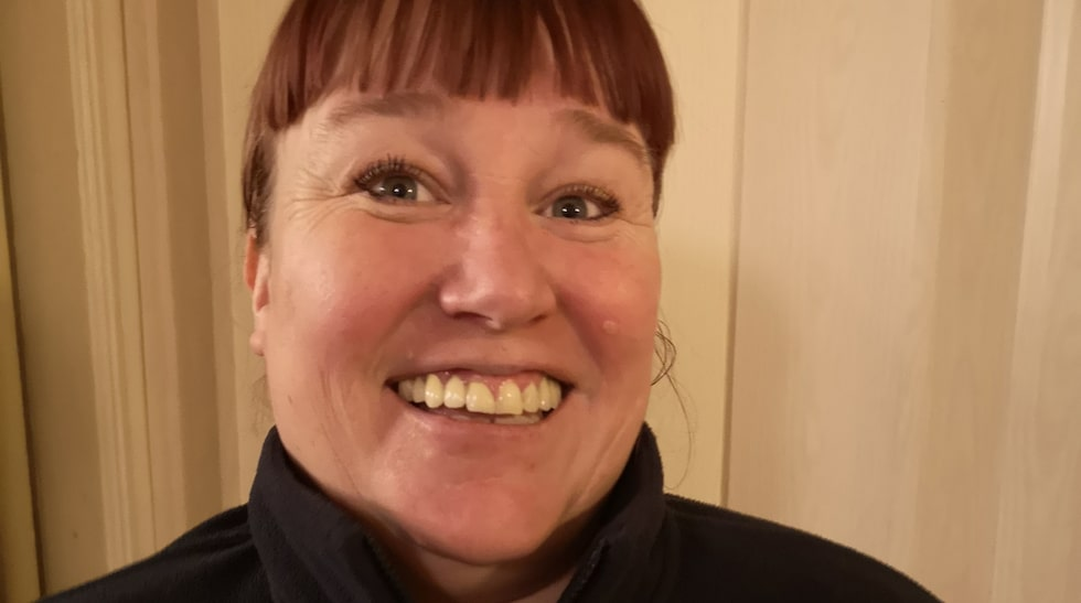 Anette Dristig Gardan jobbar som undersköterska i hemtjänsten.