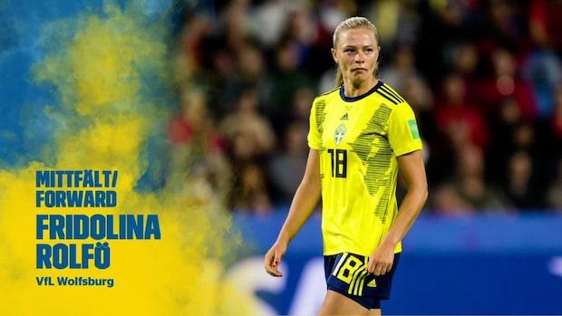 Glädjebeskedet: Rolfö och Bennison tillbaka i landslaget