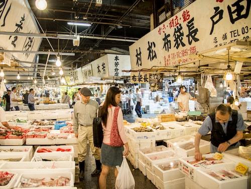 Tsukijis fiskmarknad kommer att öppna öster om Tokyo, i Toyosu i november.