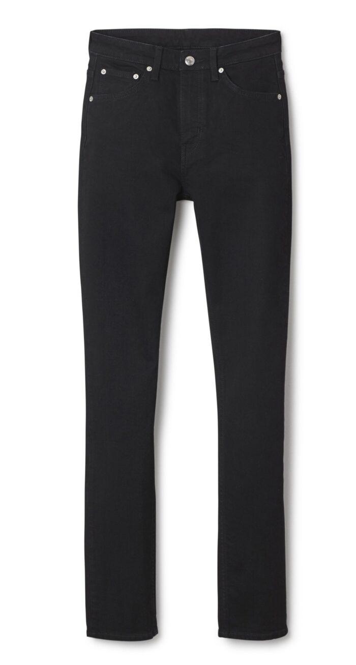 Way black, Weekday, 400 krJeans med fem fickor, stretchmaterial och smickrande mörk färg. Slimmad modell med hög midja och rakt ben från knäet.