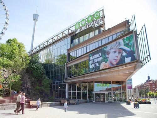 Universeum är en av Göteborgs bästa familjeattraktioner.