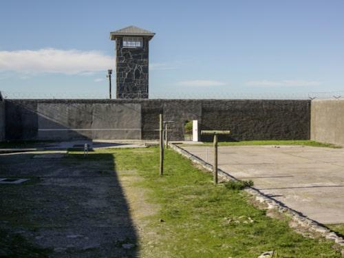 Här satt Nelson Mandela fängslad i många år