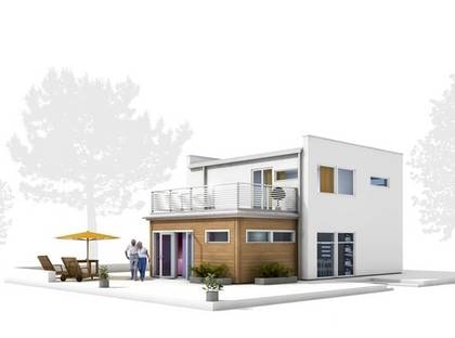 BOX 133  Snygg design där altanen blir ett extra sommarrum. TYP: 2-planshus med fem-sex rum  och kök på 133 kvadratmeter.  PRIS: 2 875 000 kronor 21 617 kronor kvadratmetern. HUSFÖRETAG: Trivselhus  www.trivselhus.se