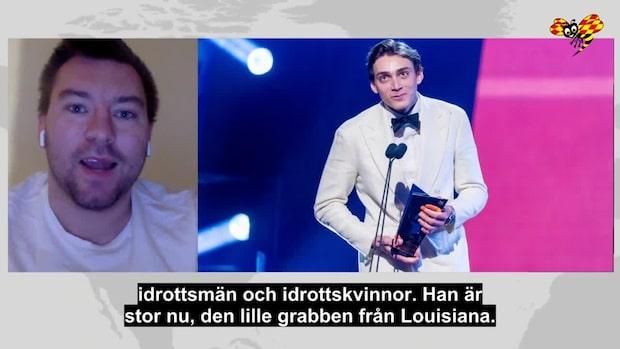 """""""Duplantis har hoppat in i svenskarnas hjärtan"""""""