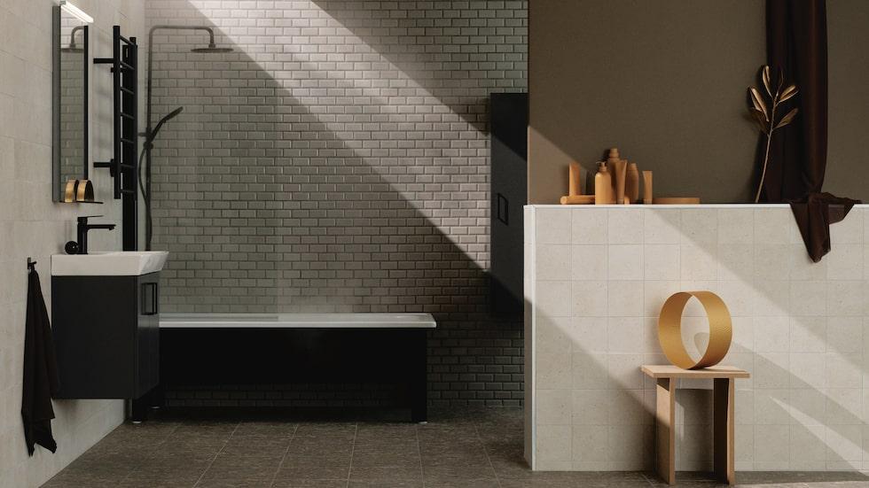 Möbelserien Skapa från Svedbergs är som gjord för små och medelstora badrum, med tåliga materialval och detaljer i ett rent och avskalat formspråk för att ge badrummet en personlig prägel.