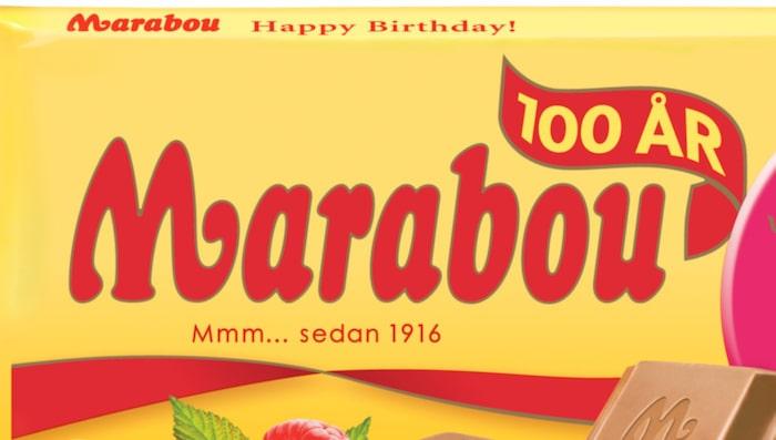 2 rutor Marabou mjölkchoklad = 100 kalorier.