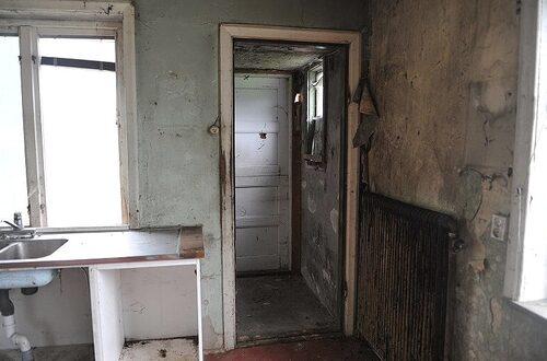 Huset innan Paula och hennes sambo började riva och renovera...