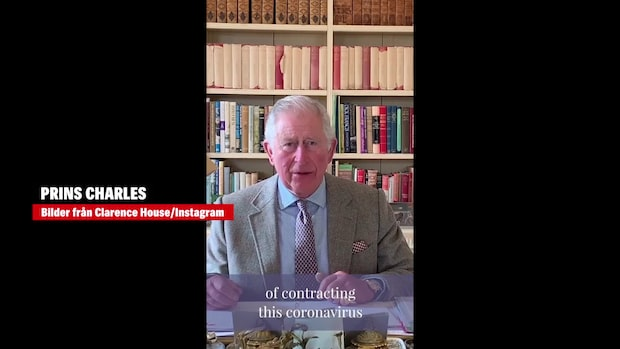 """Prins Charles om coronatiden: """"Obehaglig upplevelse"""""""