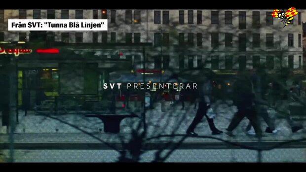 """Här är introt till SVT:s """"Tunna blå linjen"""""""
