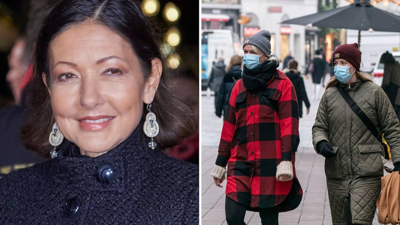 """Grevinnan Alexandra: """"Med munskydd är jag en i mängden"""""""
