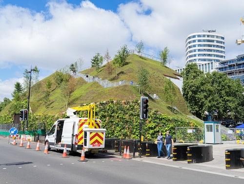 I januari 2022 kommer Marble Arch Mound att plockas ner.