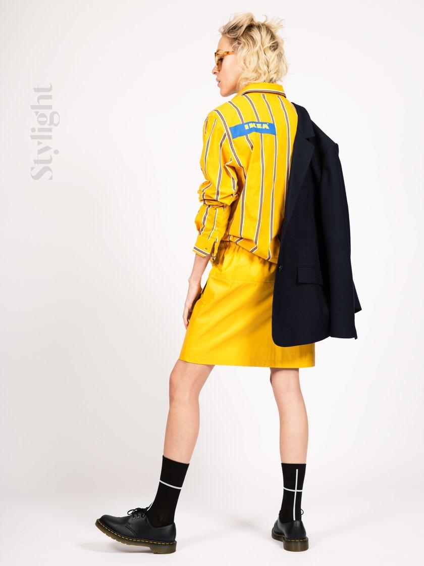 """Ikea kan vara """"det nya svarta"""" i modevärlden..."""