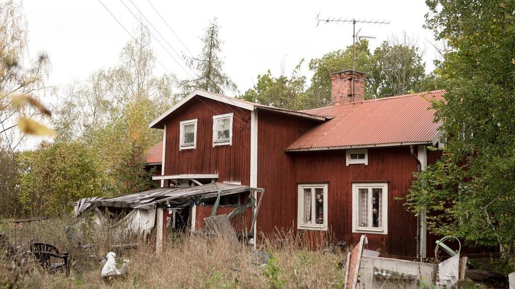 Huset hade stått övergivet i fem, tio år och var i stort behov av renovering.