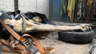 Zlatan Statyn Flyttad Till Hemlig Plats