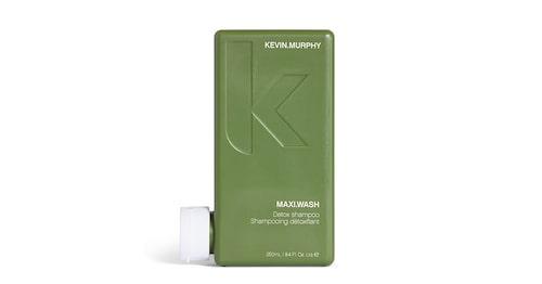Djuprengörande schampo för färgat hår, Kevin Murphy Maxi wash detox shampoo.