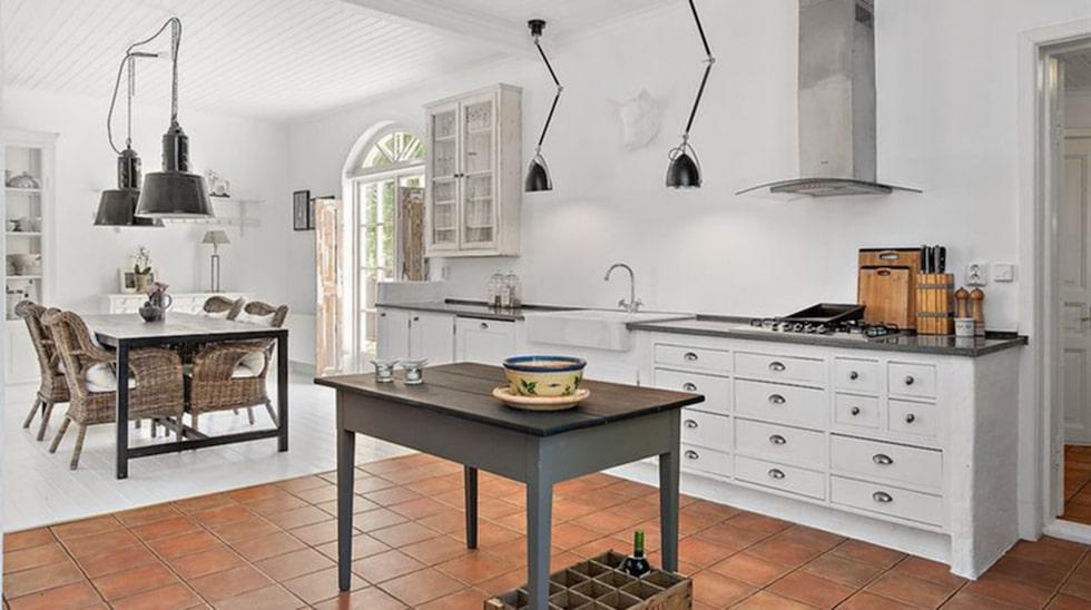 Köket där du har gott om plats för att laga dina pannkakor.